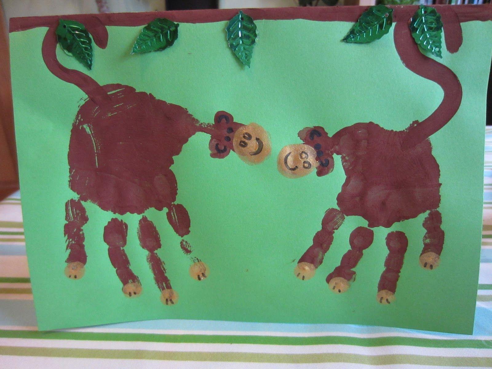 Monkey Art For Hunter Sarah Kautzman Did It For Austin
