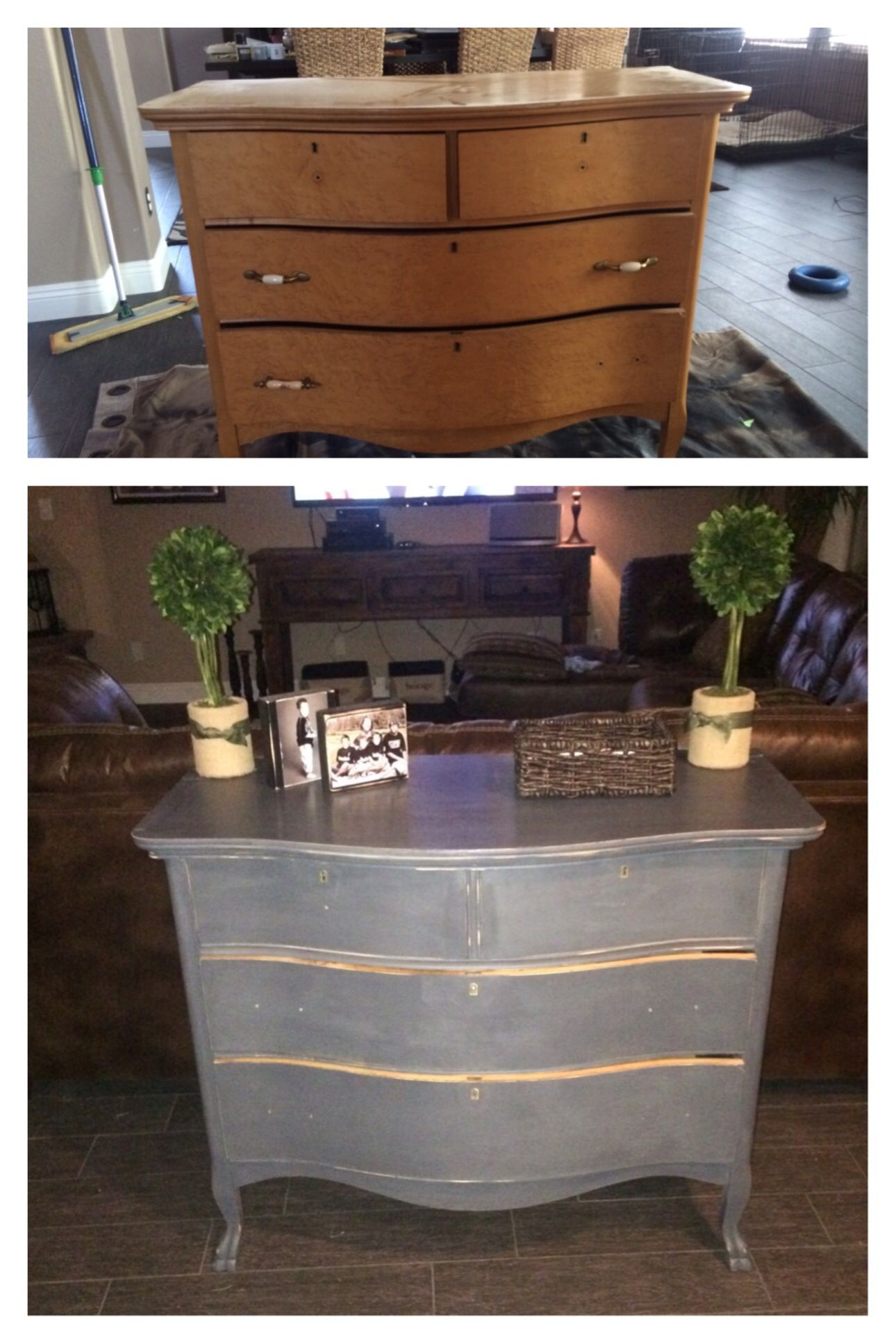 Easy Chalk Paint And Finish From Michael S Lace Color With Soft