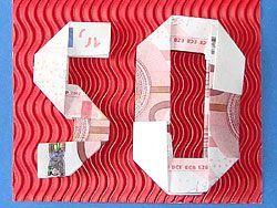 Geldgeschenke Basteln Geburtstag 50