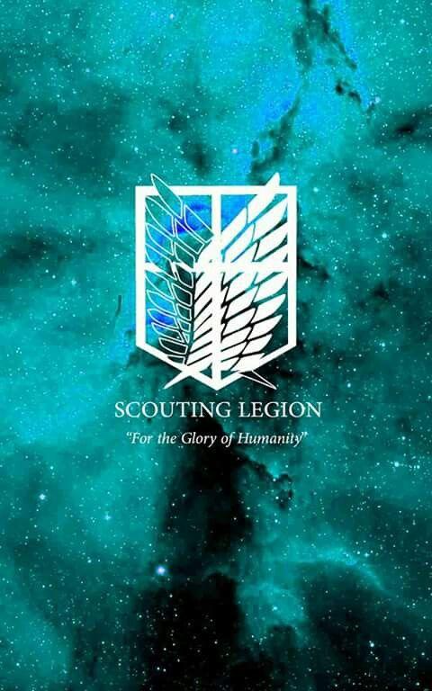 The Scouting Legion Logo Seni Seni Manga Mengagumkan