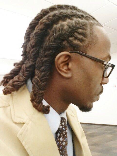 Cornrows Loc Style Dreadlock Hairstyles For Men