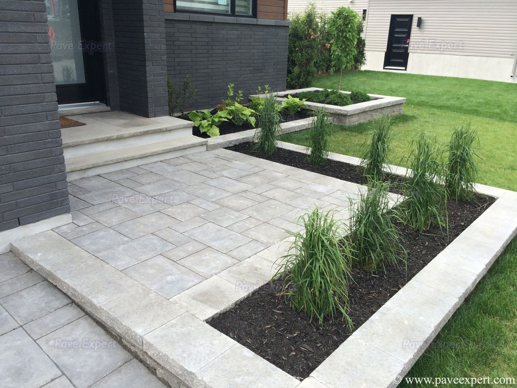 Pin By Michael On Realisations Diy Stone Patio Pavers Backyard Patio Pavers Design