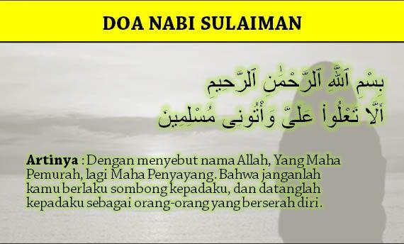 Inilah Doa Nabi Sulaiman Dalam Al Quran Untuk Jadi Kaya Dan Murah