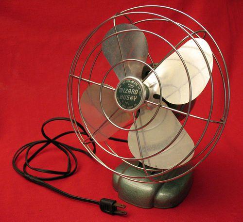 vintage wizard husky 8 electric fan city fan pinterest