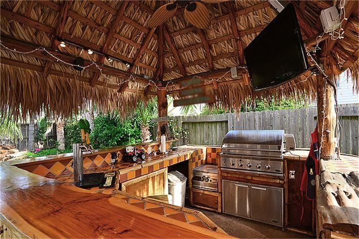 OUT DOOR PALAPA / TIKI BAR AREA | Outdoor tiki bar, Tiki ... on Palapa Bar Backyard id=23490