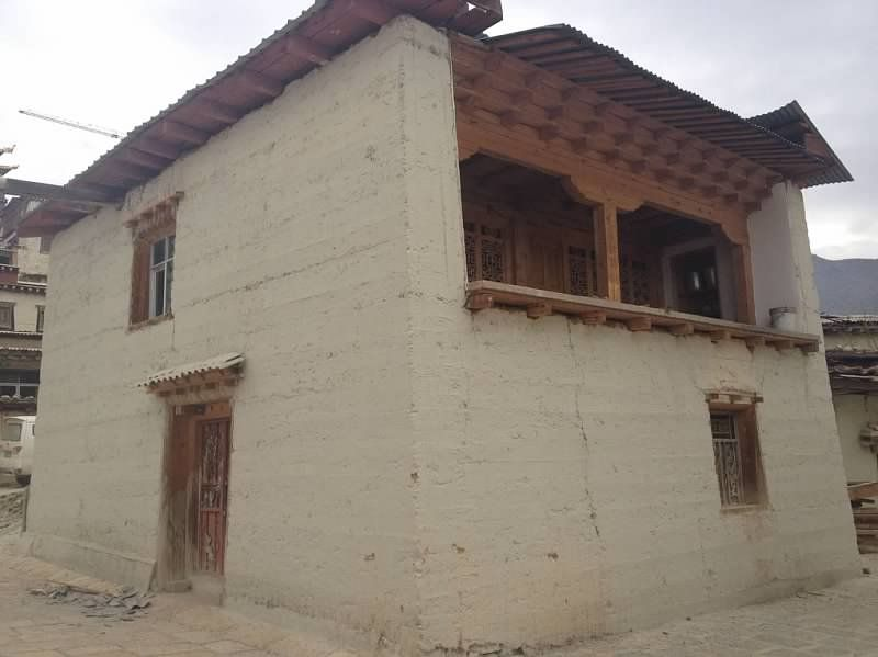 Tibetan Architecture Rammed Earth   Google Search