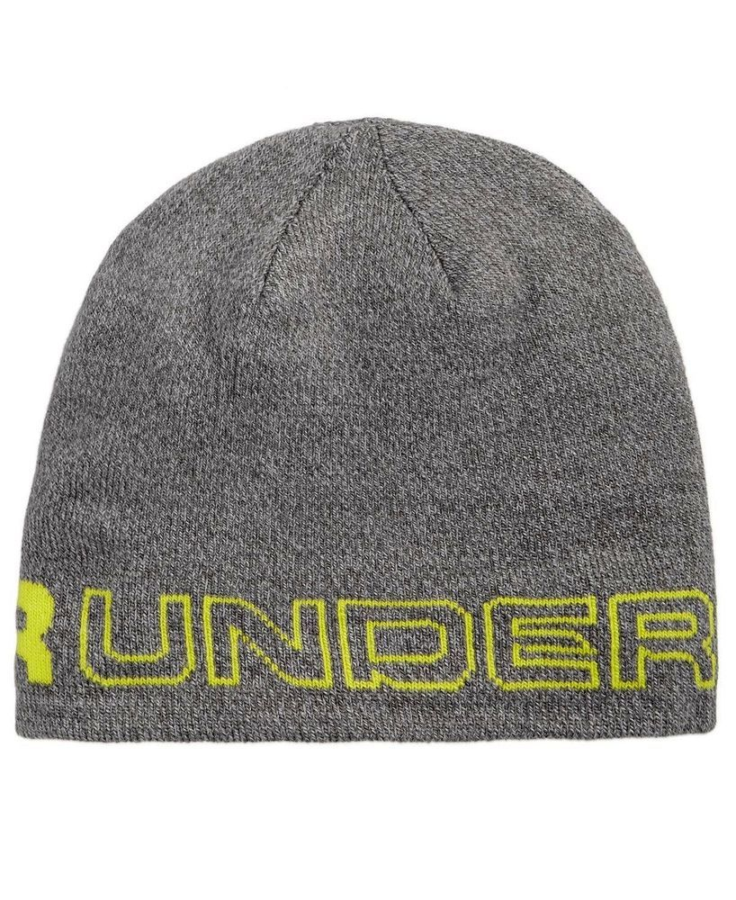 NWT Mens Under Armour Wordmark Beanie 14c95e9287b
