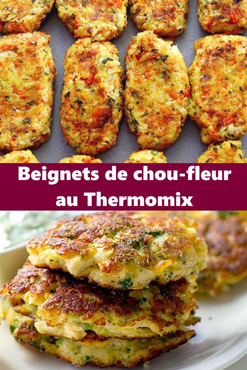 Beignets de chou-fleur au Thermomix en 2020 | Beignets de ...