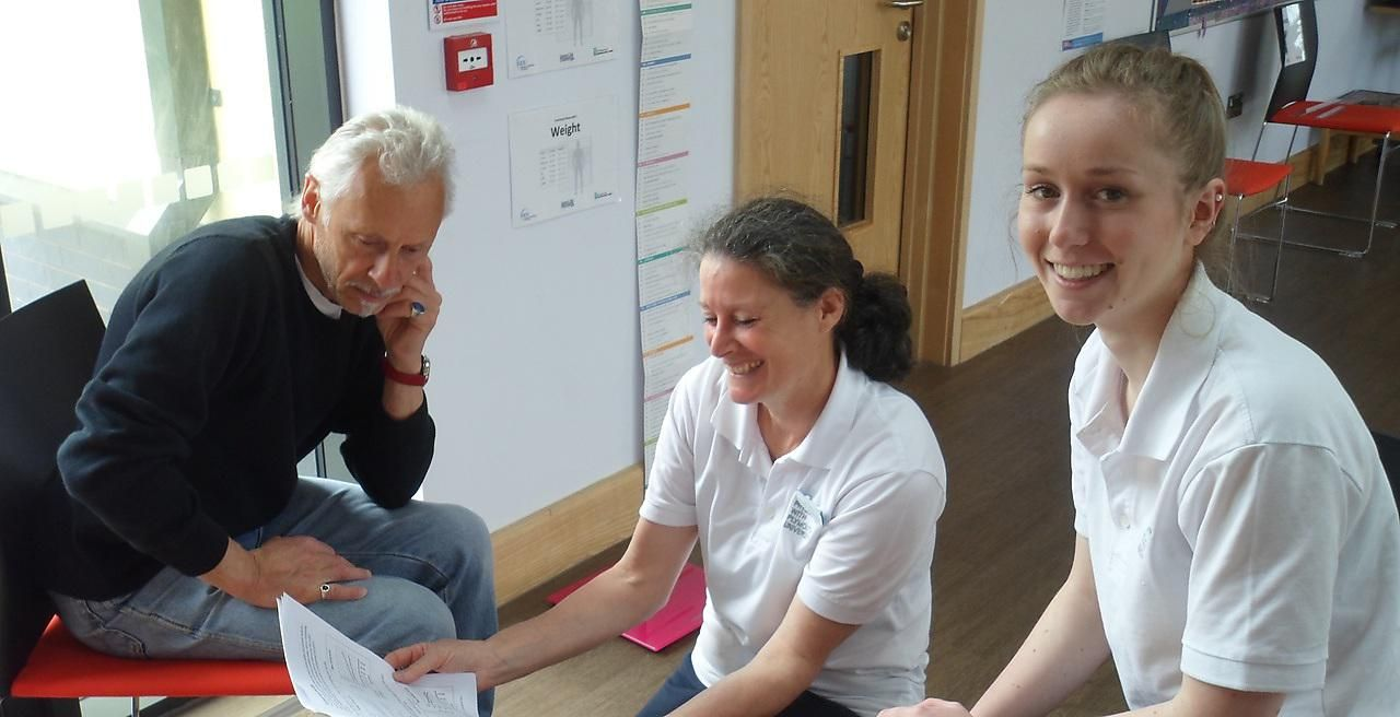20 May 2016 | Physiotherapy students are helping over-60s assess ...