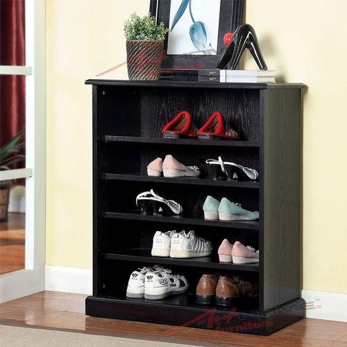 تسوق Art Home كلاسيك ستايل جزامة خشب بني جوميا مصر Furniture Of America Shoe Rack Shoe Cabinet