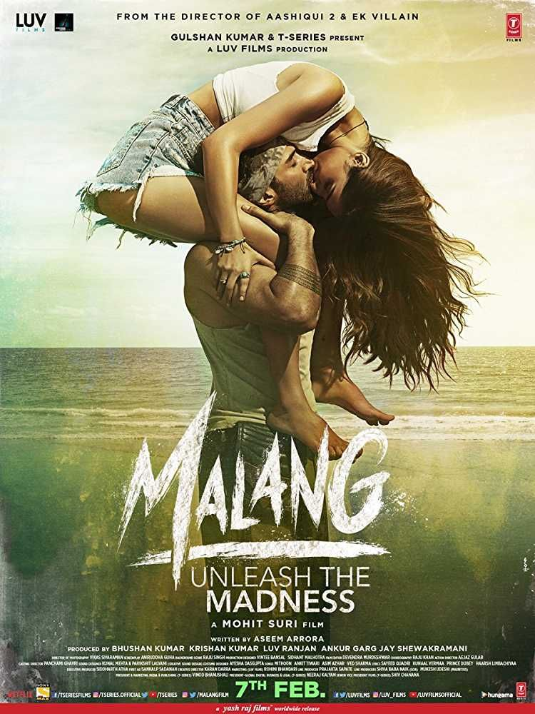 Download Malang 2020 Bluray 480p 400mb 1720p 1 3gb 1080p 2 2gb Early Release In 2020 2020 Movies Roy Kapoor Movie Releases