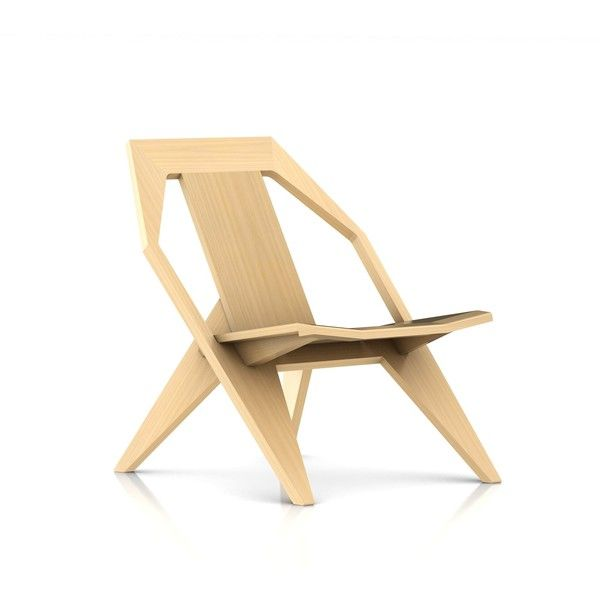 Konstantin Grcic Medici Chair (59,085 PHP) ❤ liked on Polyvore featuring home, furniture, chairs, low chair, herman miller furniture and herman miller chair
