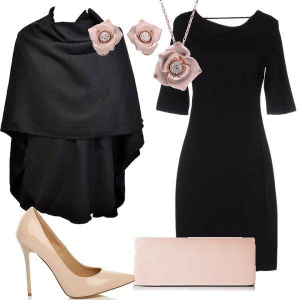 almeno Dipendente Escrementi  Questa proposta per unoccasione elegante è davvero low cost e si compone di  un tubino nero da indossare con una ma… | Stile di moda, Vestito casual,  Abiti alla moda