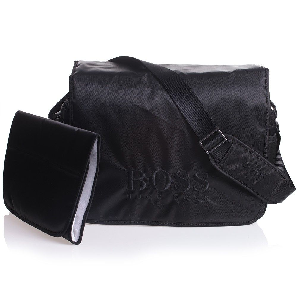 176a41c608f Hugo Boss Baby Changing Bag with Mat - made from durable and  water-resistant nylon with light padding and cotton lining. Understated and  sleek, the changing ...