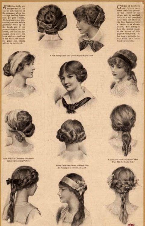 Fashion Friday Scarf Tying 101 Junk In The Trunk Vintage Market Edwardian Hairstyles Edwardian Fashion 1910 Hairstyles
