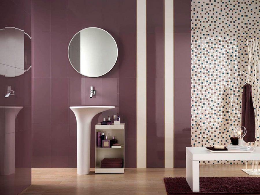Piastrelle a mosaico per il bagno: eccone 20 bellissimi esempi