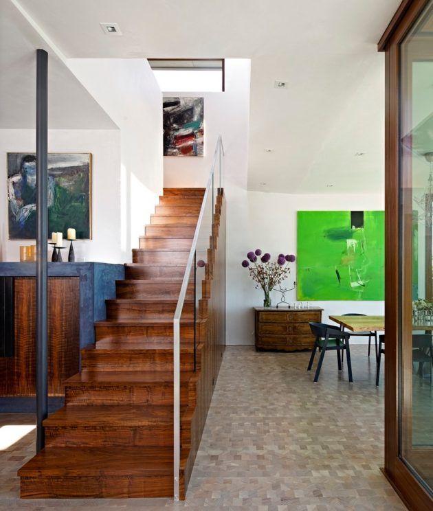 15 Stellar Mid-Century Modern Staircase Designs That Sparkle With Elegance