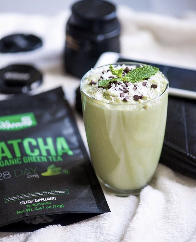 I'm obsessed with the Matcha Organic Green Tea! So yummy... also many different drink & food recipes...