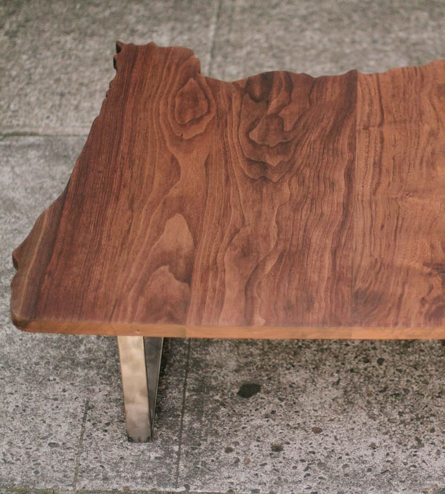 Oregon Coffee Table Walnut: Reclaimed Wood Oregon Coffee Table By Carlino On Scoutmob
