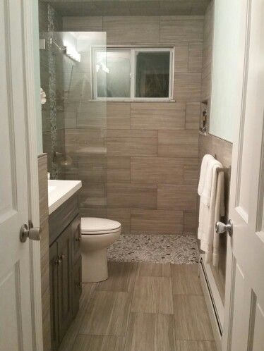 Small Bathroom Ideas Large Tile Bathroom Simple Bathroom Renovation Bathroom Remodel Master
