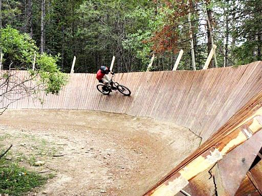 How To Build A Wooden Wall Ride Or Wooden Burm Pinkbike Forum