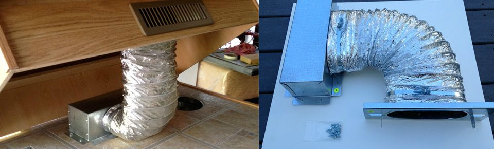 Pin By Jim Buchanan On Under Cabinet Ducting Cabinet Toe Kick Heat Installation Under Cabinet