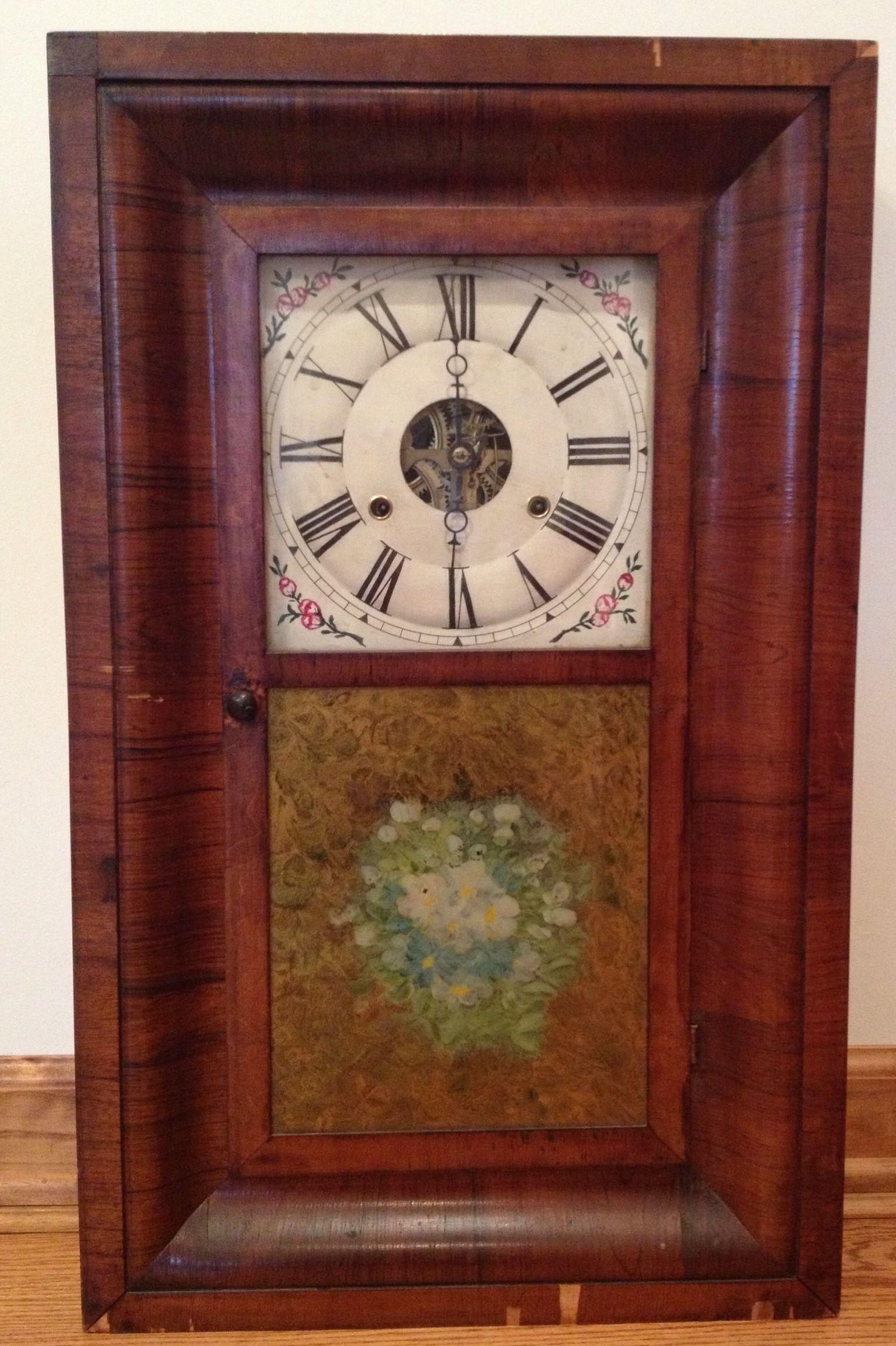 Arts and crafts mantle clock - Seth Thomas Ogee Mantel Clock Circa 1862 01 05 2013