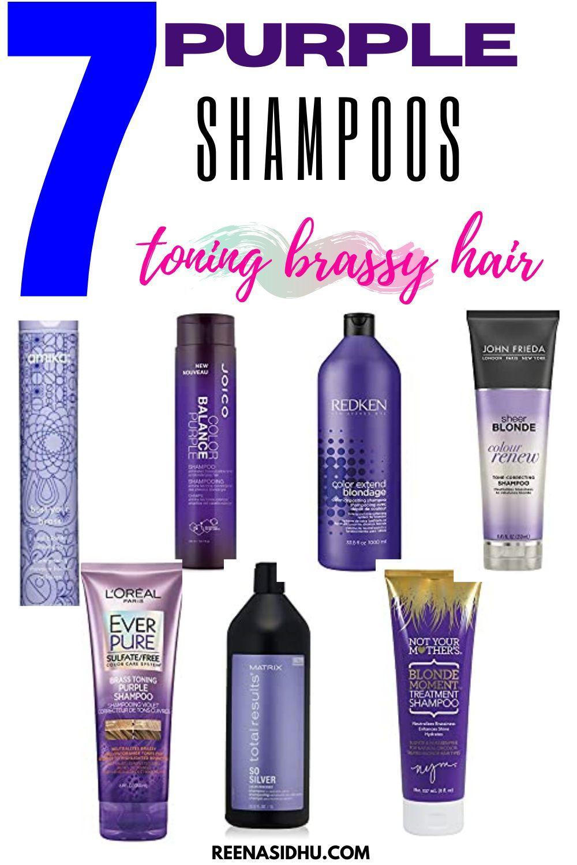 7 purple shampoo for toning brassy hair purple shampoo