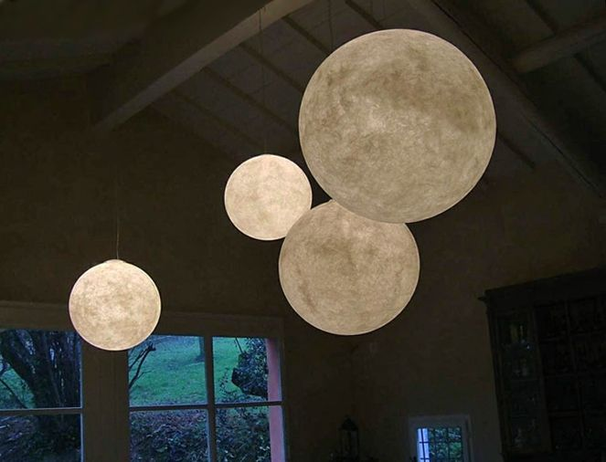 LUNA Moon Pendant Light By OÇILUNAM For In Es. 13.75
