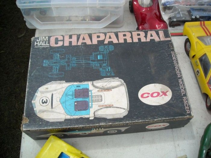 Start Your Engines: A COX Chaparral slot car beckoned our inner Jim Hall
