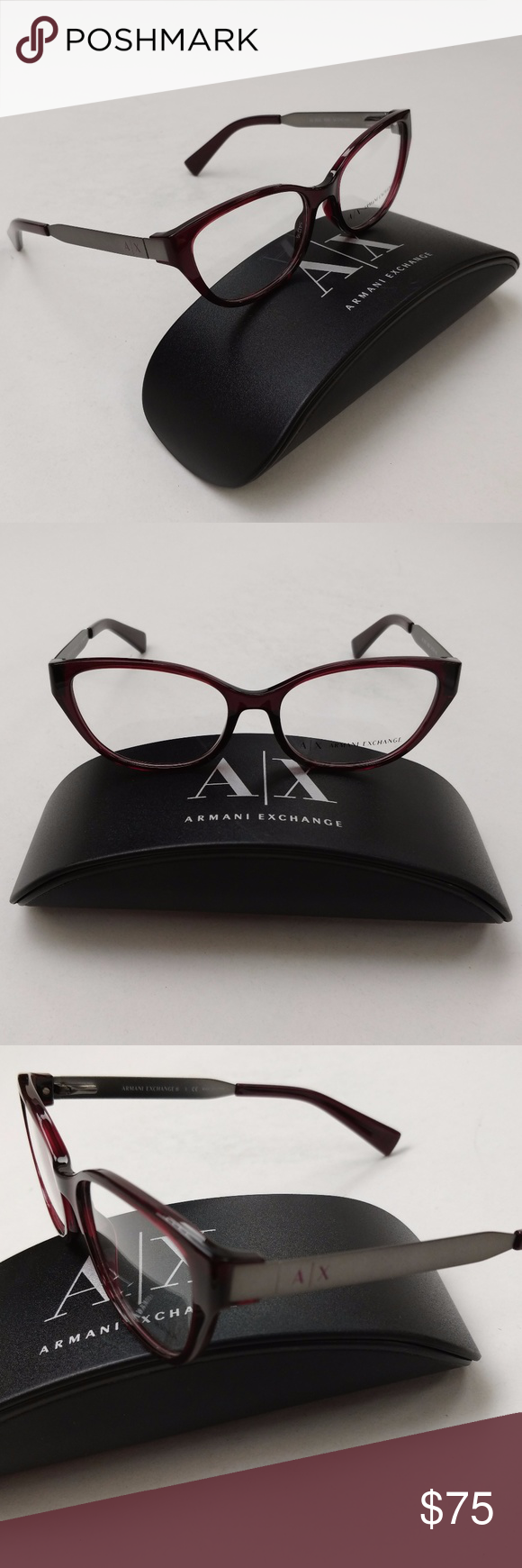 38b47e7a465e Armani Exchange AX3033 8003 Eyeglasses  EUI324 Excellent condition ...