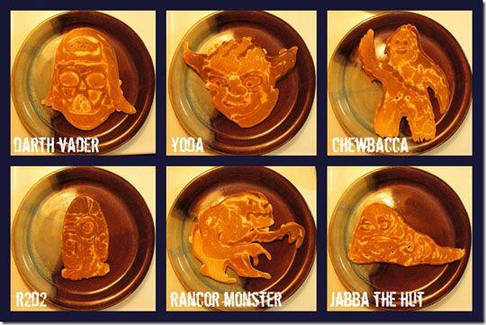 Star Wars pancake art!