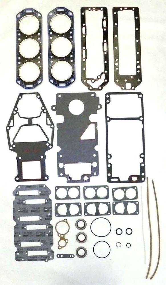 Mercury 175 Hp V6 Sport Jet Gasket Kit With Head Gaskets OE