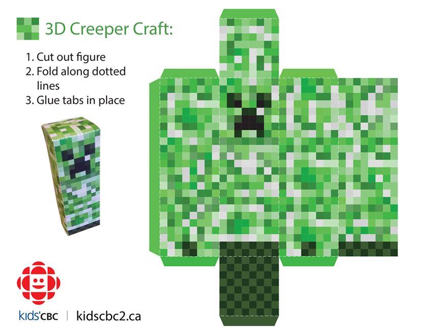 creeper 3d