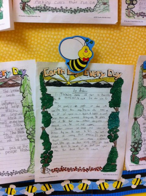 Buzzing with Ms. B: Earth Day Every Day | Grade 4 LA | Pinterest | Earth