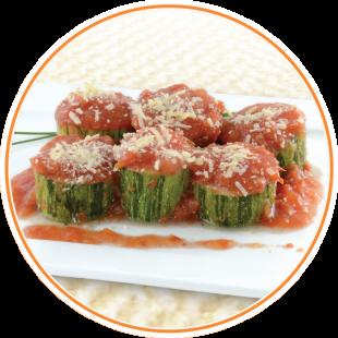 Rondelli de zucchini da Sabores light Ótima ideia