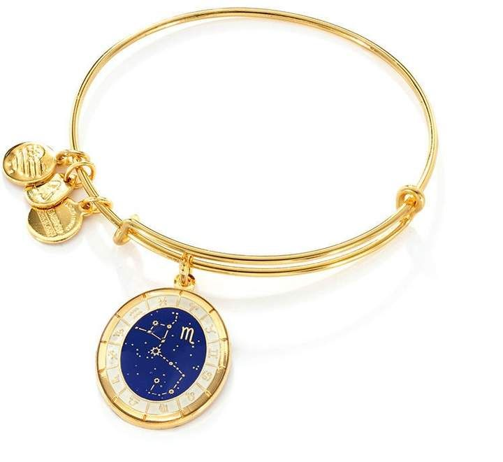 5cd69fb41 Zales Alex and Ani Scorpio Constellation Charm Bangle in Brass with Gold  Electroplate #ad beautiful jewelry #jewelrymaking #jewels #jewelryfinds # pretty ...