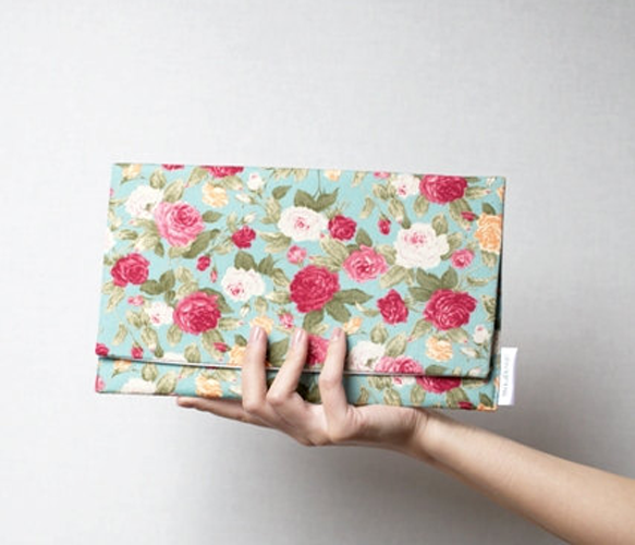 Floral Inspired Clutch