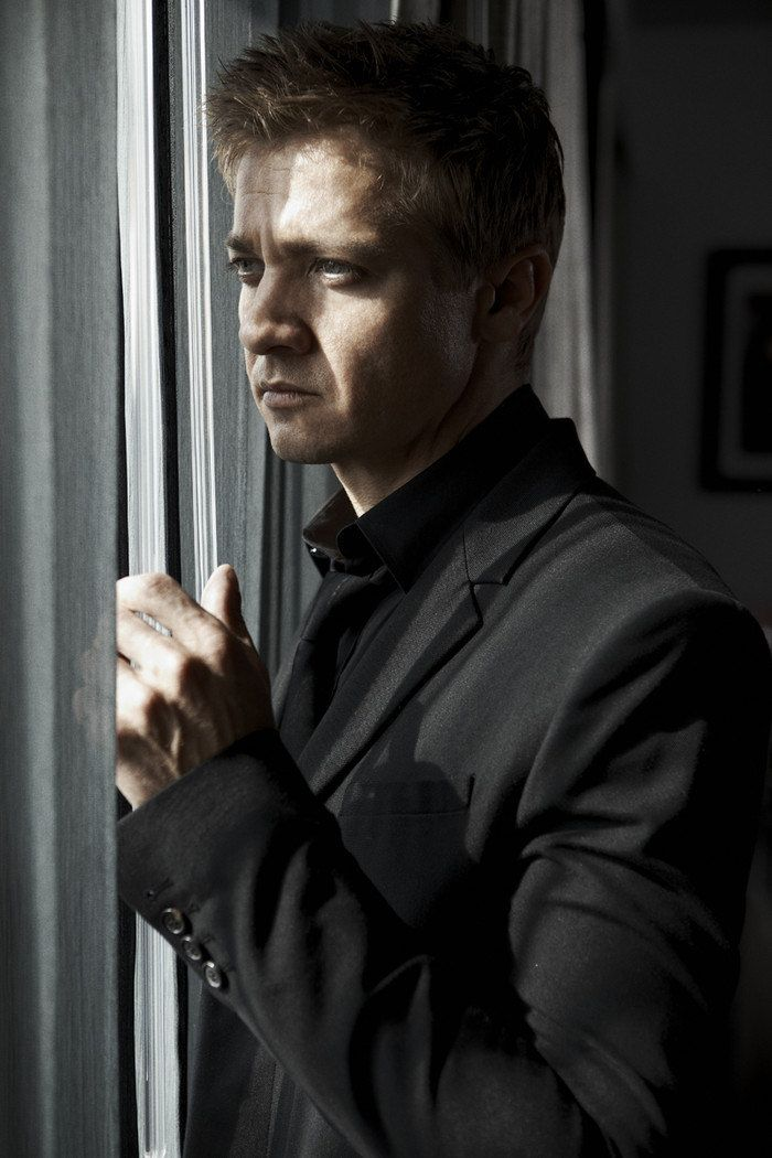 Jeremy Renner - Hollywood Reporter Magazine  Apr 13 , 2012