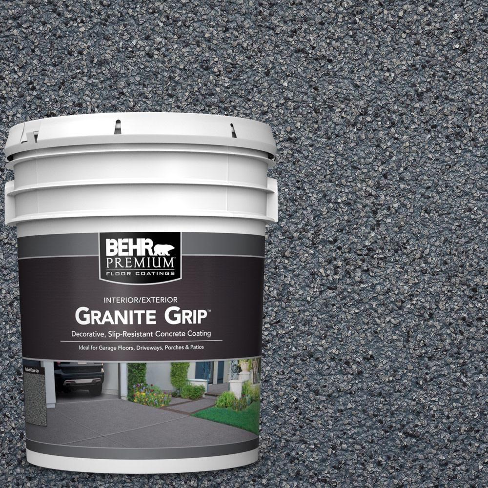 decorative concrete floor paint.htm behr premium 5 gal gg 05 azul diamond decorative flat interior  azul diamond decorative flat interior