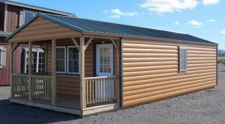Ordinaire 14x36 ADK Cabin | Adirondack Storage Barns