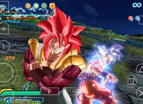 Dbz Ttt Mods Download New Anime Tenkaichi Psp Iso Android1game Goku Super Saiyan Blue Super Saiyan Rose Dbz