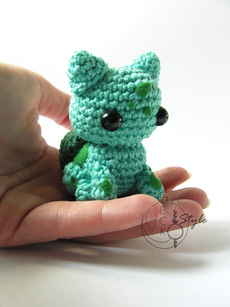 I crocheted the Bulbasaur family! : pokemon | 1032x774