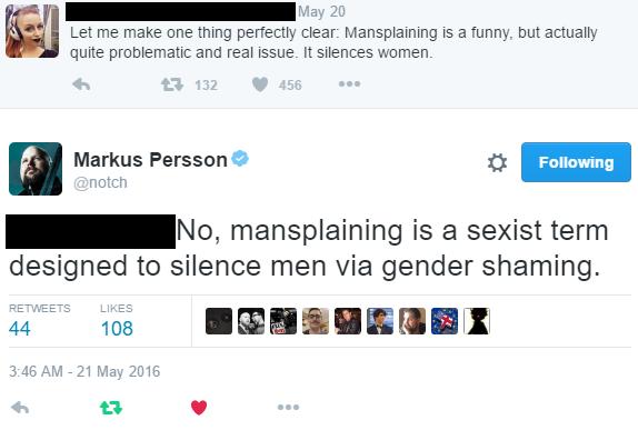 mansplain sexist