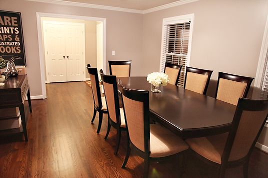 Love This Paint Color For My Dining Room! Cobblestone Martha Stewart