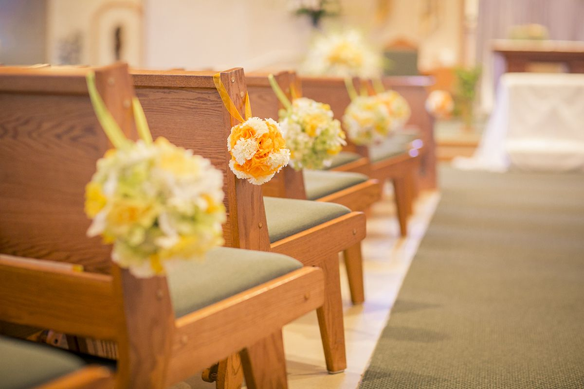 Green and yellow wedding theme church aisle decorations pomander green and yellow wedding theme church aisle decorations pomander junglespirit Image collections
