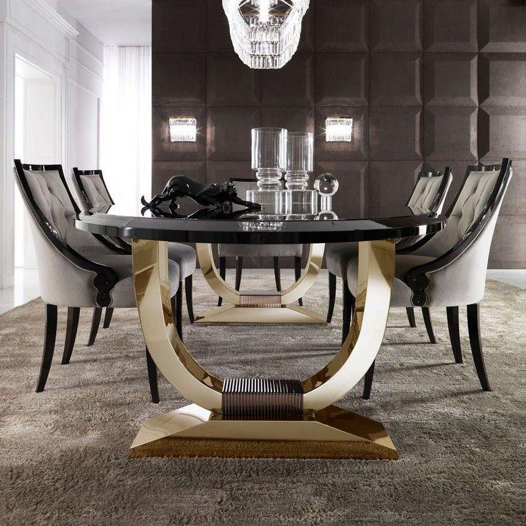 40 Classy Luxury Dining Room Design Ideas Diningroom Diningroomdesign Diningroomideas Luxury Dining Room Luxury Dining Room Tables Oval Table Dining Luxury dining table and chairs