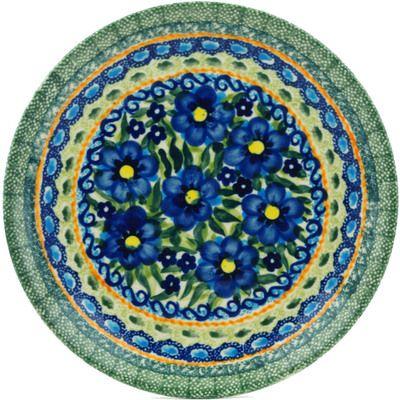 Polish Pottery 7-inch Plate | Boleslawiec Stoneware | Polmedia H4004C  sc 1 st  Pinterest & 7\