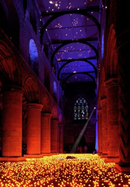 Dumfermline Abbey, Scotland - Gorgeous