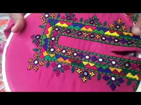 Hand Embroidery Easy Stitch How To Make Balochi Stitch Designs